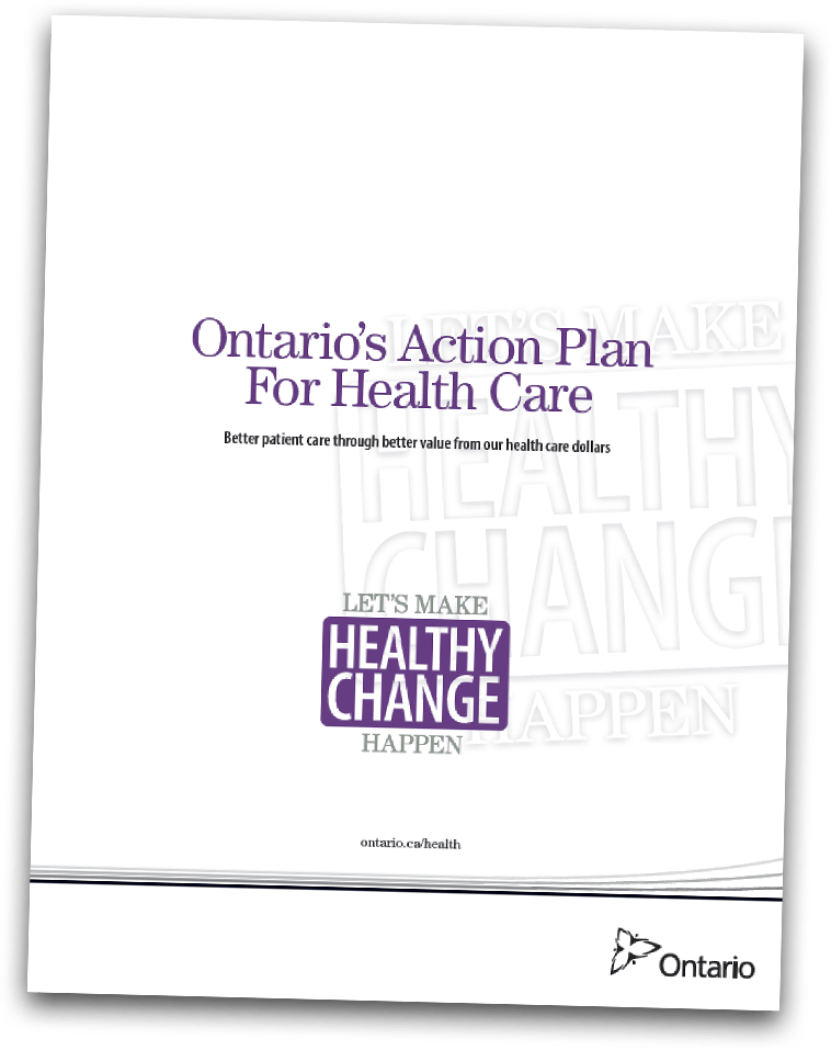 Ontario's Action Plan For Health Care